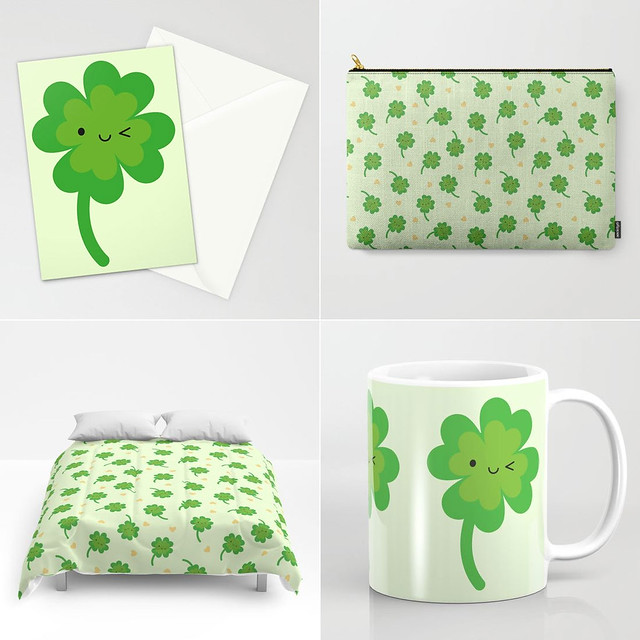 Lucky Clover at Society6