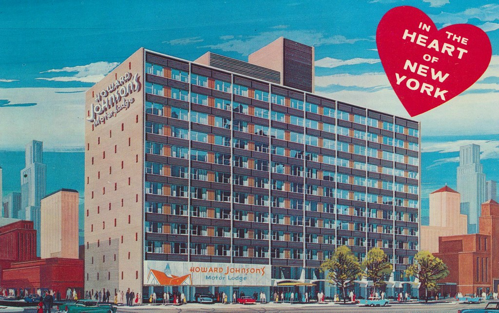 The cardboard america motel archive howard johnson 39 s for Motor inn of algona inc algona ia