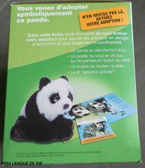Berlingot's Animos WWF panda