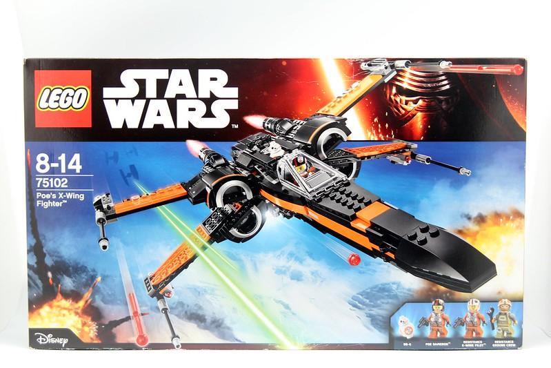 LEGO 75102 Poe's X-Wing Starfighter 波戴美朗的X翼戰鬥機
