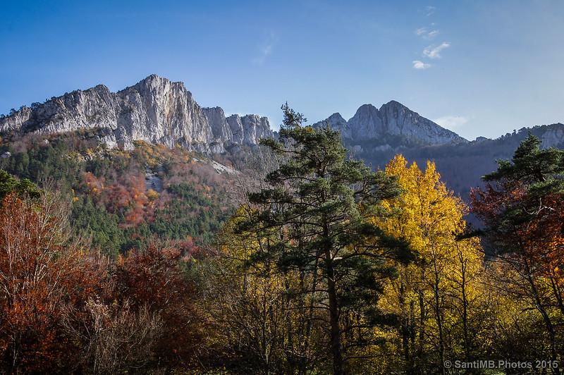 Colores de otoño frente al Ezkaurre