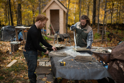 Tyler & Shlomy Cutting Slate | by goingslowly