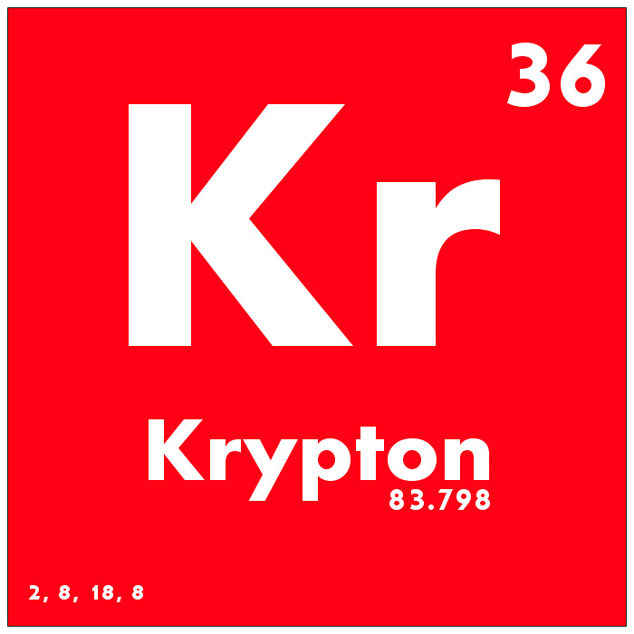 036 krypton periodic table of elements watch study guide flickr urtaz