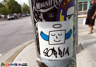 Sorria (or Soffia) sticker (Nasck?) - Key West -8833 | by labeauratoire