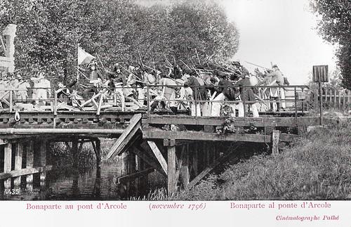 Bonaparte au pont d'Arcole (novembre 1796)