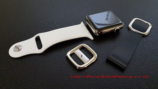 Stainless Steel Apple Watch Parts | by PureGoldPlating