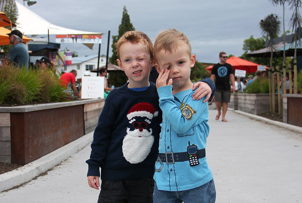 Die Zwillinge Emil und Anton
