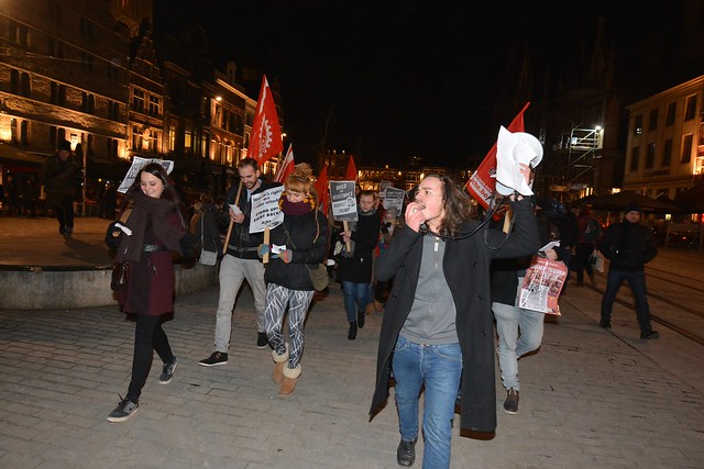 Resist Trump in Gent || Foto's: Jean-Marie