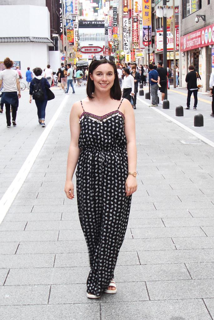 George Asda Jumpsuit Fashion Blogger Tokyo UK