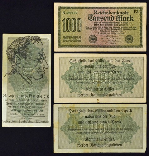 Anti-Jewish Propaganda Banknotes