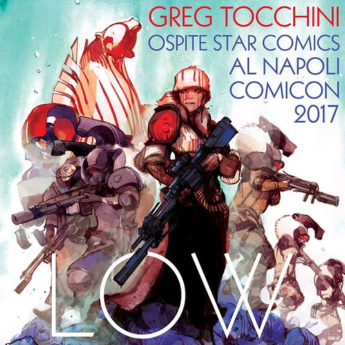 #NapoliComicon2017: Greg Tocchini ospite Star Comics