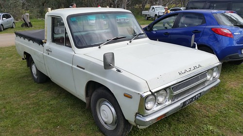 This Is A Rare 1977 Mazda B1600 Ute