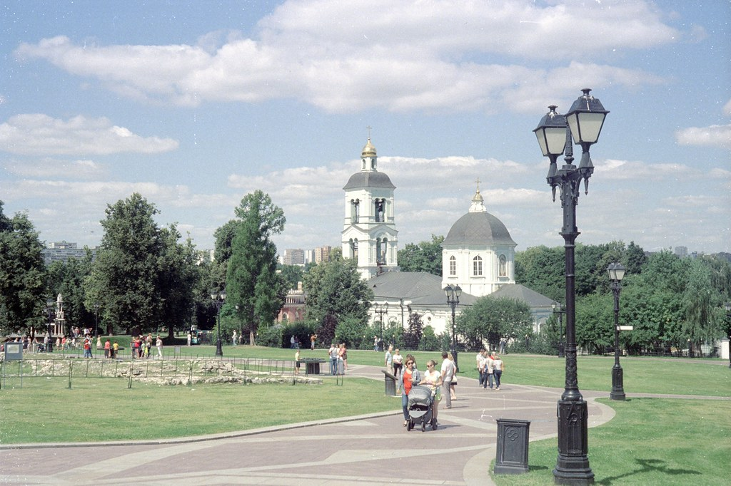 Tsaritsyno. Church «Life-Giving Spring»
