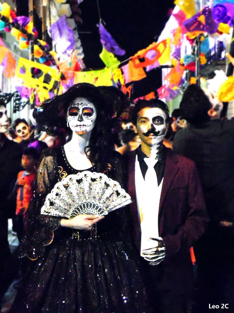 Catrina Y Catrín Amor Desde El Más Allá Recorrido Noctur Flickr