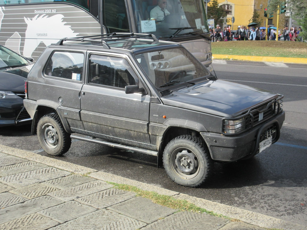 1992 fiat panda 4x4 trekking 1047 seen in florence not flickr. Black Bedroom Furniture Sets. Home Design Ideas