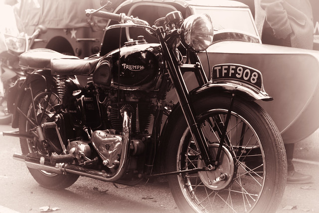 Triumph 5t And 5ta Speed Twin Motorcycles