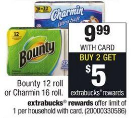 Bounty and Charmin