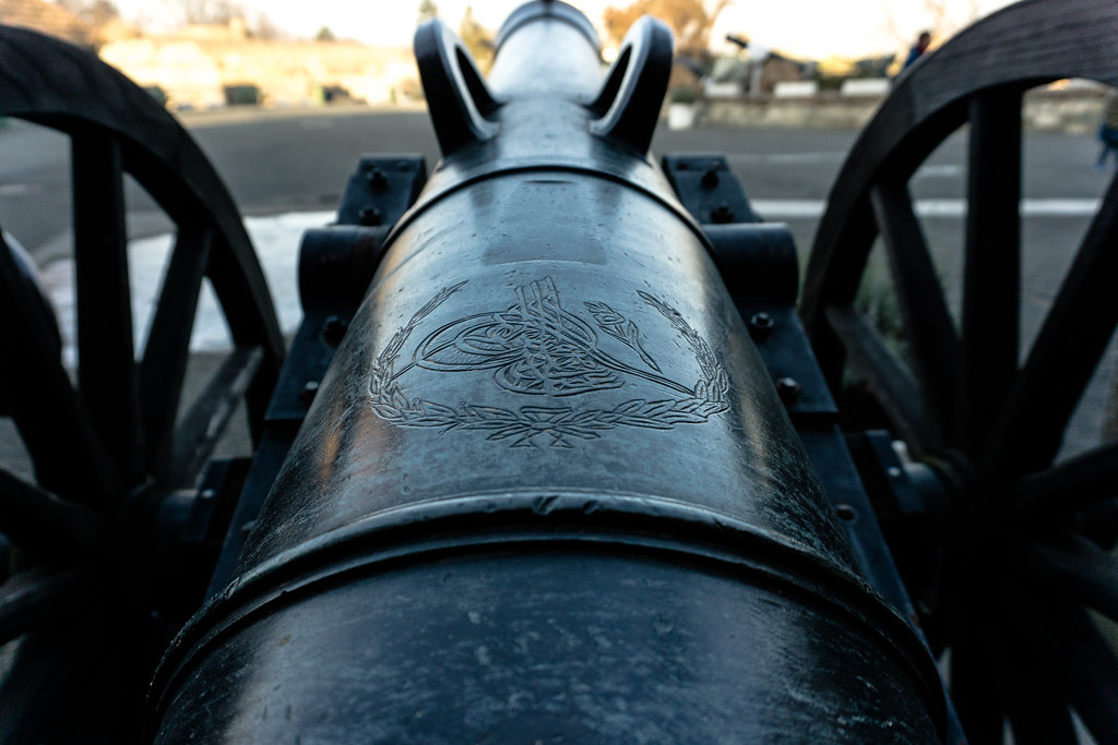 Ottoman Cannon Mucahit Saruhan Flickr