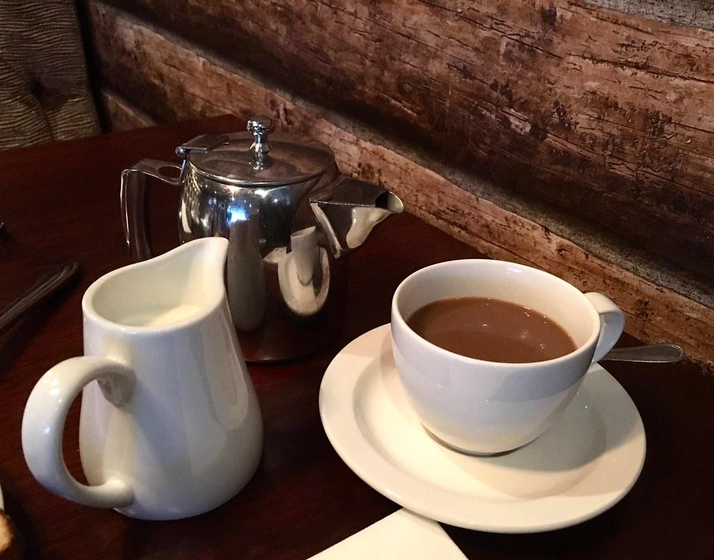 Breakfast at Worsley Park Marriott Hotel coffee