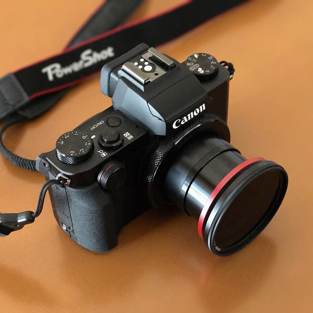 Canon Powershot G5x Magfilter Adapter 52mm On Circular F Kamera Pocket By Raneko