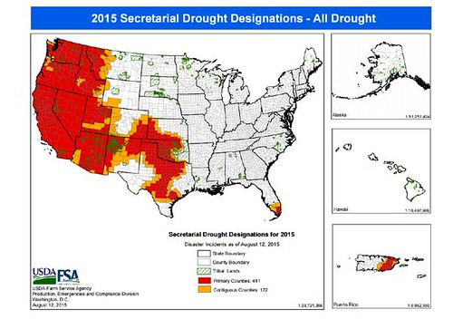 South Florida Drought Mobile Irrigation Labs To The Rescue USDA - Us department of agriculture california drought map history