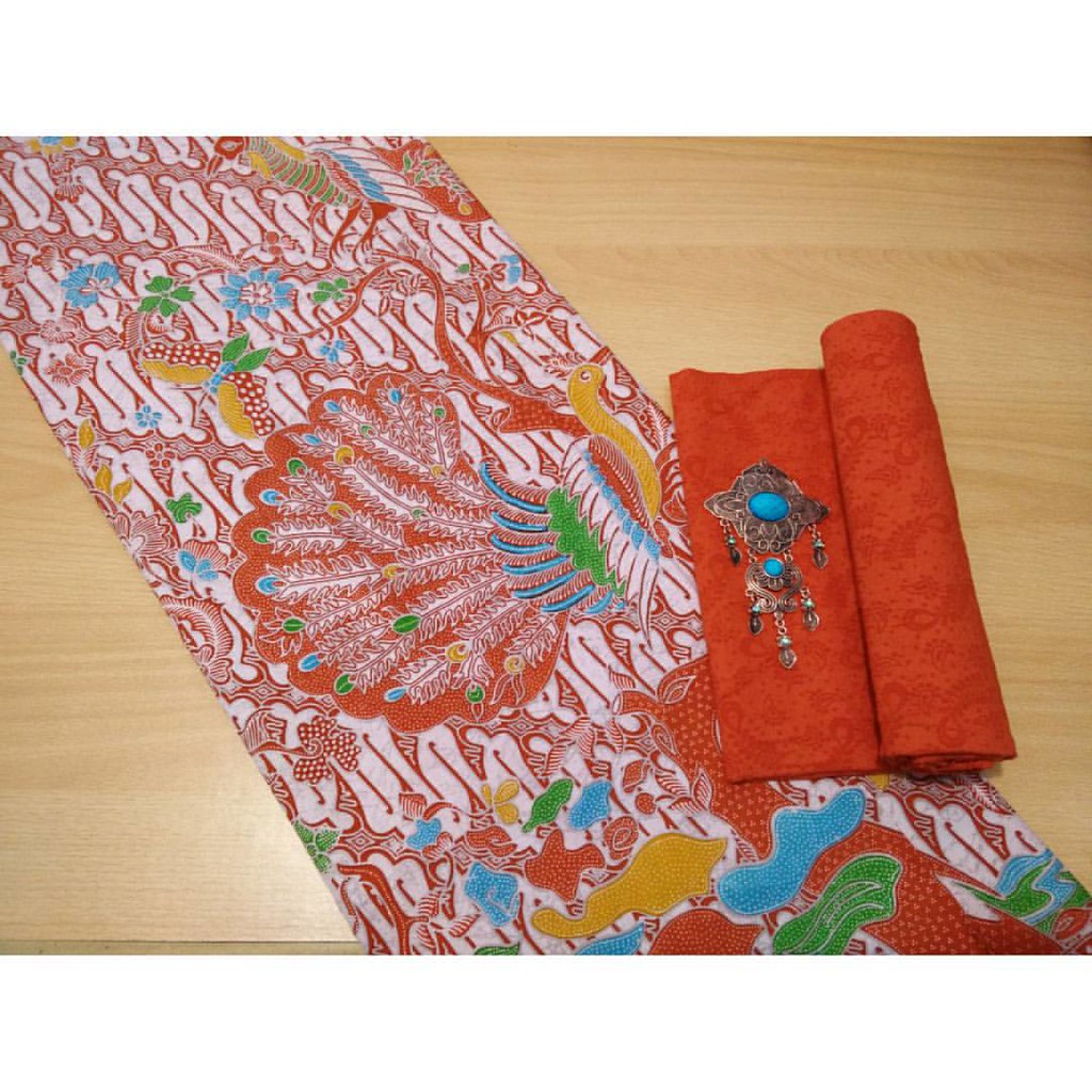 Set Batik Katun Print Embos 125rb Blm Termasuk Bross Flickr