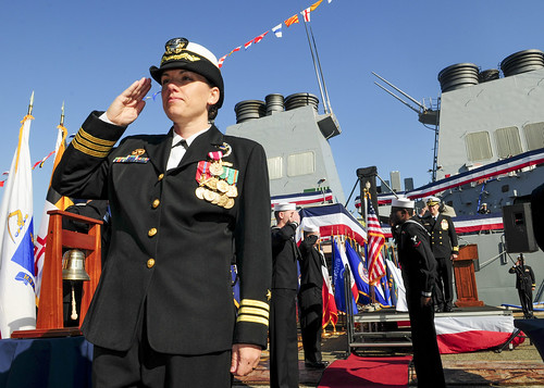 USS Benfold Changes Command