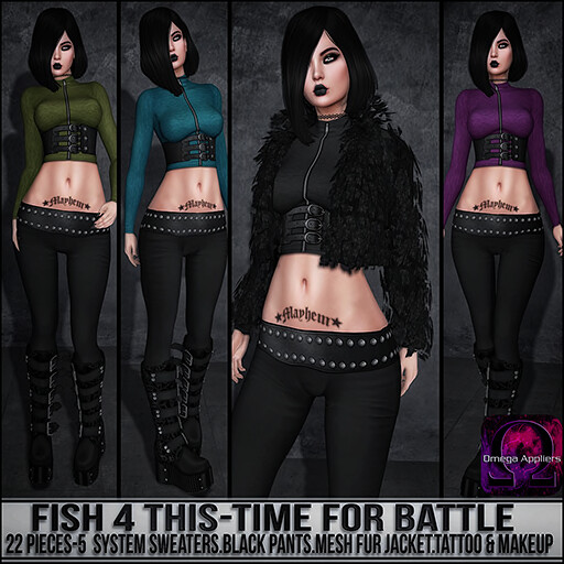 Sn@tch Fish 4 This-Time for Battle Vendor Ad SM