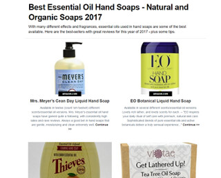 Top-Rated Natural Hand Soaps with Essential Oils – Best of 2017 thumbnail