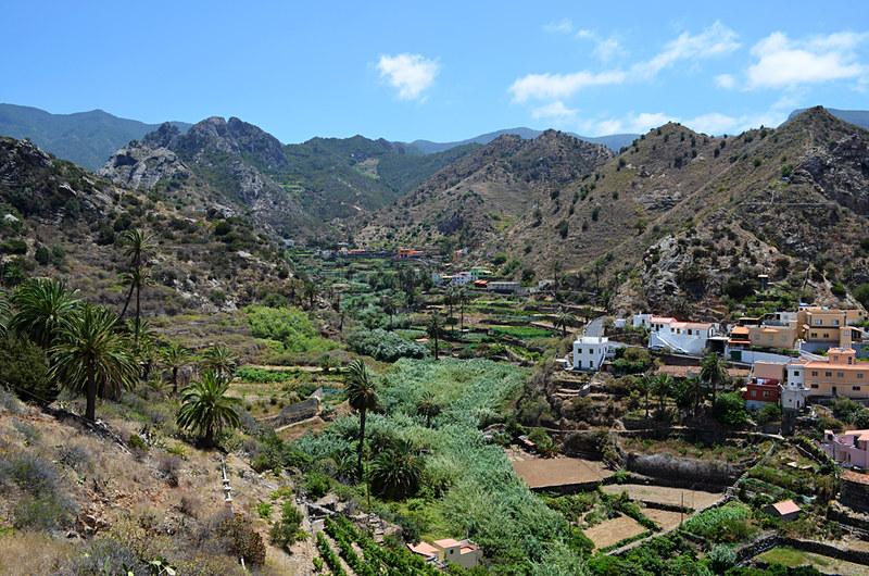 Walking at Vallehermoso, La Gomera, Canary Islands