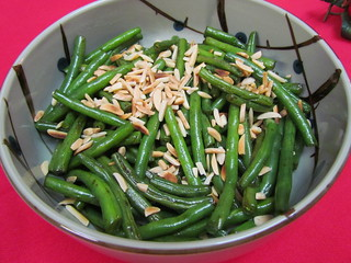 Seared Green Beans with Almonds