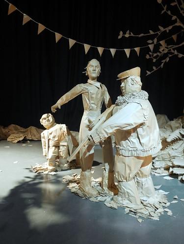 Roald Dahl - Paper Installation - 5
