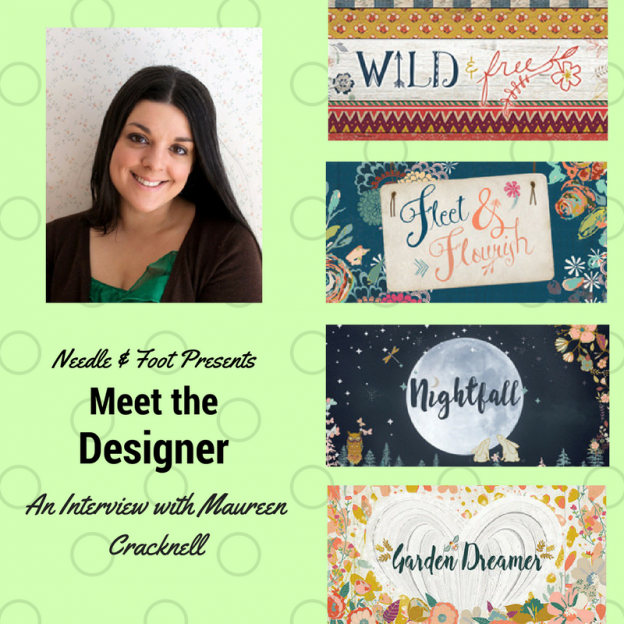 Needle & Foot Interview and Garden Dreamer Sale!