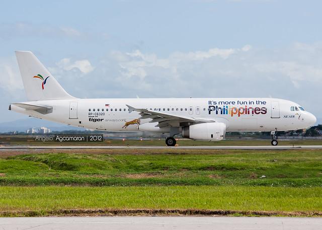 SEAir A320-232 RP-C6320 12/21/12