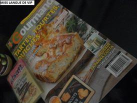 magazine gourmand spécial Tartes, tourtes et quiches