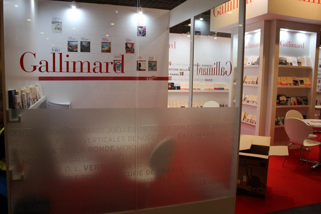 Gallimard - Frankfurt Buchmesse 2015