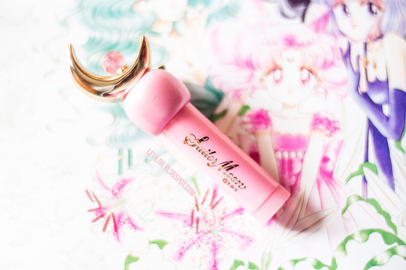 Sailor moon, magical romance, moon lipstick , blog beauté Belgique