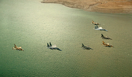 In Formation over the Dead Sea | by Israeli Air Force