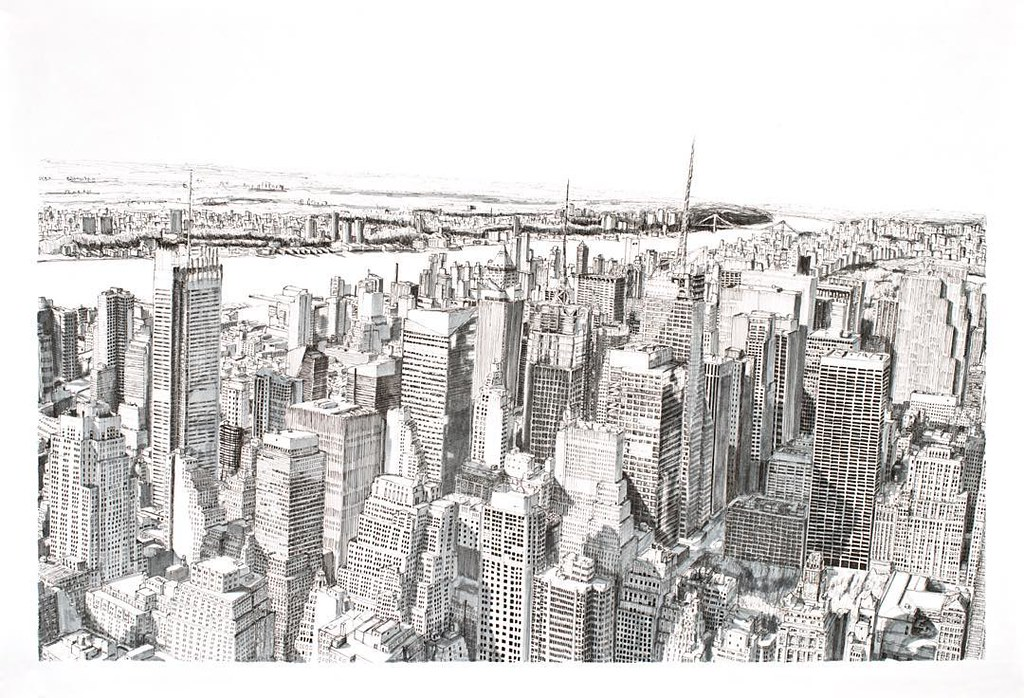 Line Art New York : Prints of this illustration new york will be available