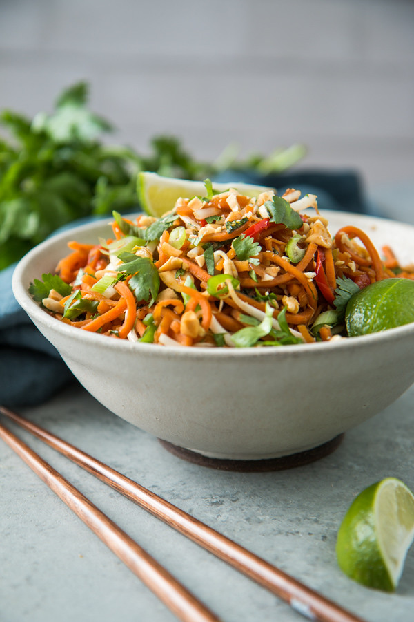 Vegetarian Sweet Potato Pad Thai | Will Cook For Friends