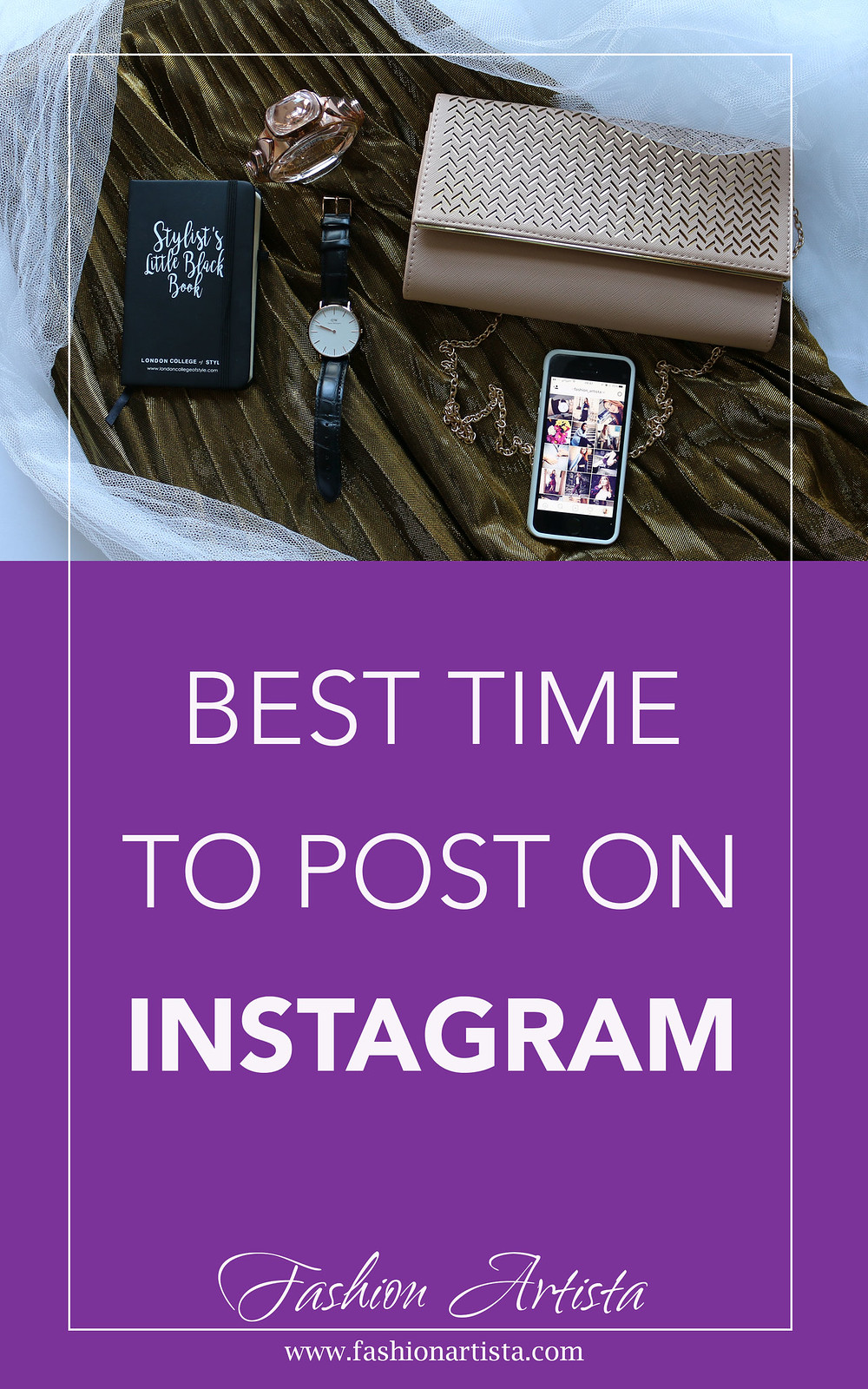 Best Time to Post On Instagram - www.fashionartista.com