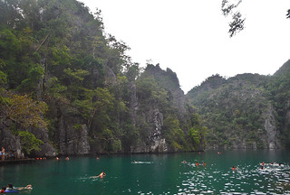 Coron - Kayangan Lake swim time