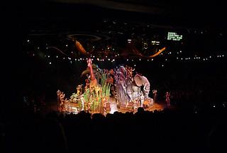 Disneyland Hongkong - Lion King finale