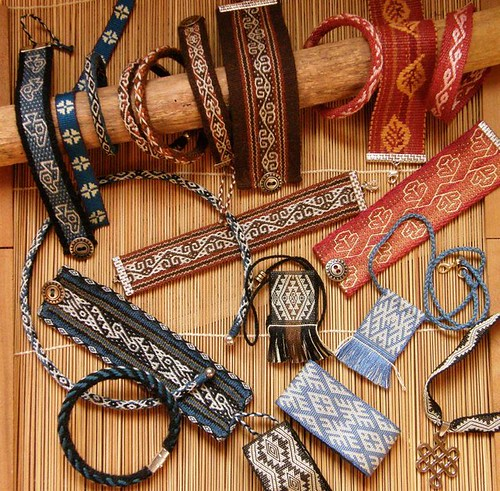 Woven jewelry... backstrap weaving | by Verny2