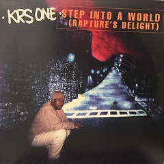 KRS ONE:STEP INTO A WORLD(RAPTURE'S DELIGHT)(JACKET A)