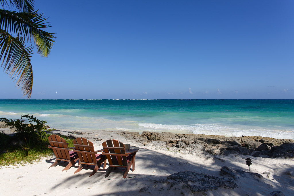 Tulum Mexico Ocean View Tulum Is The Site Of A Pre