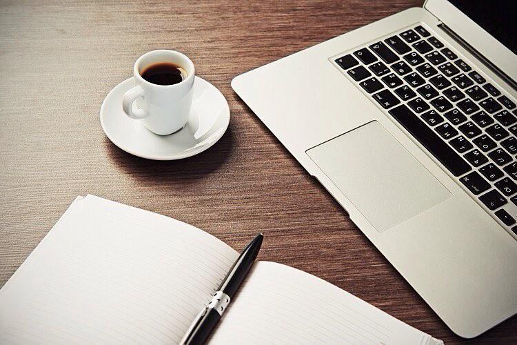 Apple Macbook Air Macbokair Coffee Pencil Notebook