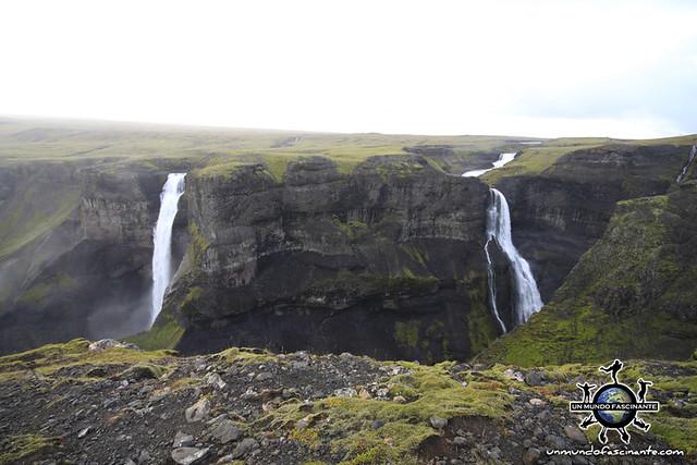 Haifoss, Islandia.