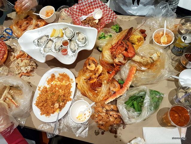 Captain's Boil seafood feast