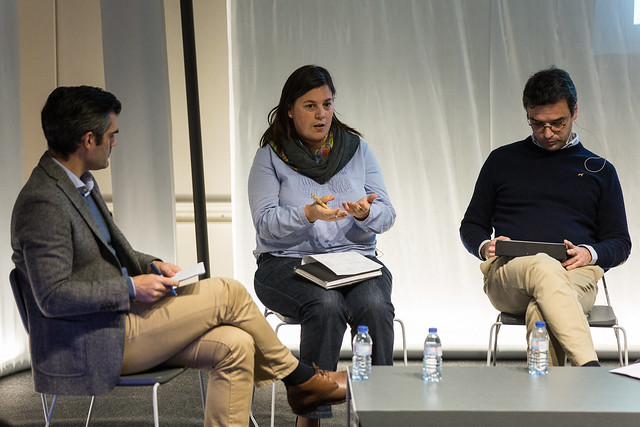 Ana Neves durante o debate organizado pela Porto Innovation Hub